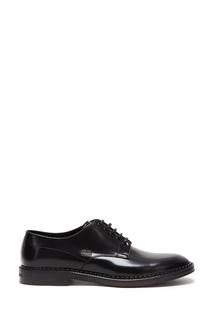 Кожаные туфли на ребристой подошве Dolce & Gabbana