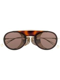 Max Mara солнцезащитные очки-авиаторы