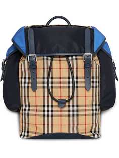 Burberry рюкзак Ranger с панелью в клетку Vintage Check