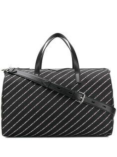 Karl Lagerfeld дорожная сумка K/Stripe с логотипами