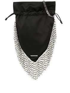 Les Petits Joueurs декорированная сумка на плечо с бахромой