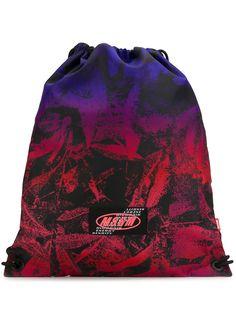 MSGM рюкзак с нашивкой-логотипом