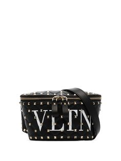 Valentino поясная сумка VLTN с отделкой Rockstud Spike