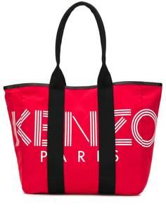 Kenzo сумка-тоут с принтом логотипа