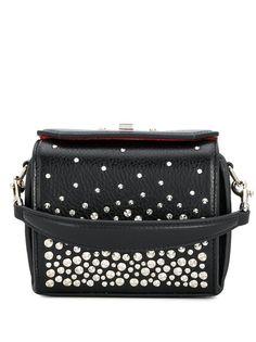 Alexander McQueen studded mini Box bag