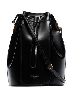 Saint Laurent сумка-ведро Talitha среднего размера
