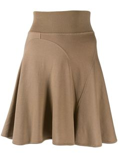 Alaïa Pre-Owned короткая юбка годе
