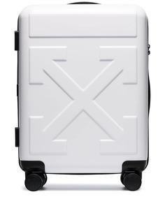 Off-White чемодан For Travel на колесах