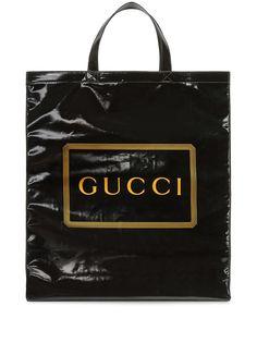 Gucci сумка-тоут среднего размера с логотипом