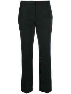 Alexander McQueen укороченные брюки строгого кроя