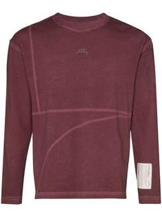A-Cold-Wall* футболка с длинными рукавами и контрастной строчкой