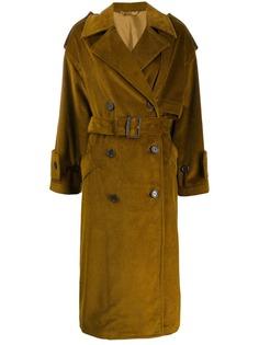 Acne Studios однобортное вельветовое пальто
