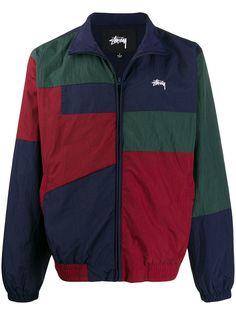 Stussy спортивная куртка со вставками