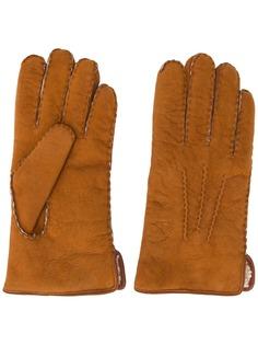 Gala Gloves перчатки с декоративной строчкой
