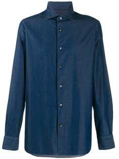Ermenegildo Zegna рубашка с длинными рукавами