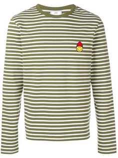 Ami Paris футболка с длинными рукавами и нашивкой