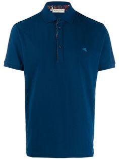 Etro классическая рубашка-поло