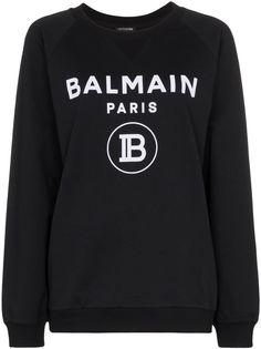 Balmain джемпер с логотипом