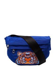 Kenzo поясная сумка с логотипом Tiger
