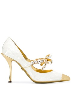 Dolce & Gabbana декорированные туфли Lori