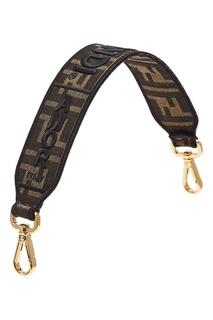 Съемный ремень для сумки из текстиля Fendi