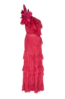 Розовое платье макси God of the Night Johanna Ortiz