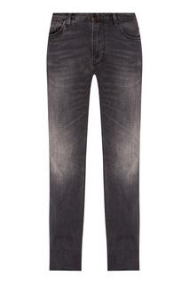 Серые потертые джинсы Emporio Armani