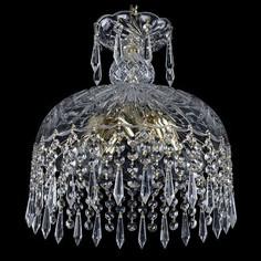 Подвесной светильник 1478 14781/30 G Drops Bohemia Ivele Crystal