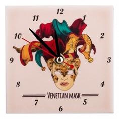Настольные часы (10x10 см) Арлекин 354-1218