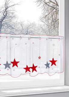 Кухонная штора Звезды Bonprix