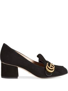 Gucci туфли-лодочки с логотипом GG