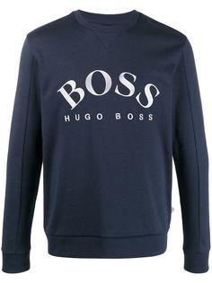 Boss Hugo Boss embroidered logo slim-fit sweatshirt