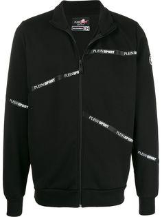 Plein Sport спортивная куртка с логотипом