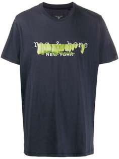 Rag & Bone футболка с графичным принтом