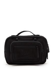 Черная поясная сумка с карманом Eastpak x Raf Simons