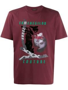 Ermenegildo Zegna футболка с принтом