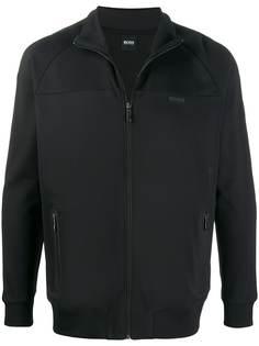 Boss Hugo Boss спортивная куртка с логотипом