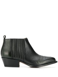 Buttero ботинки на низком каблуке