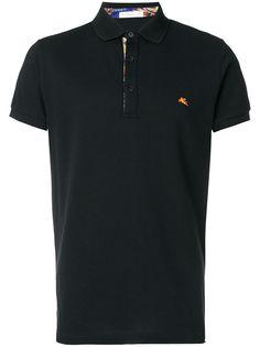 Etro футболка-поло с короткими рукавами