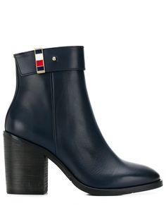 Tommy Hilfiger ботинки на каблуке