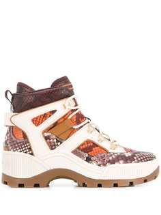 Michael Michael Kors кроссовки со змеиным принтом
