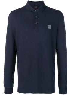 Boss Hugo Boss рубашка-поло с длинными рукавами