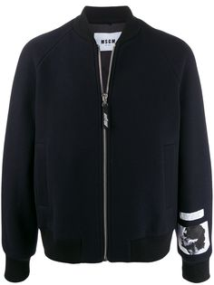 MSGM куртка-бомбер Turbo