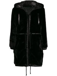 Michael Michael Kors двустороннее пальто с капюшоном