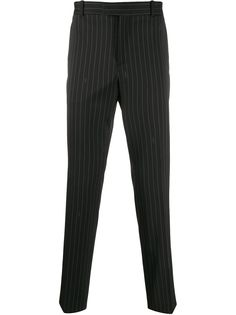 Kenzo брюки строгого кроя в тонкую полоску
