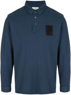 Kent & Curwen рубашка-поло с длинными рукавами
