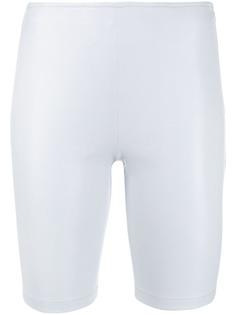 Manokhi облегающие шорты средней посадки