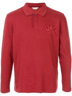 Gieves & Hawkes рубашка-поло с длинными рукавами