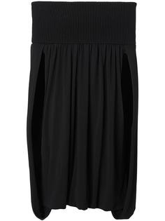 Burberry платье с открытыми плечами