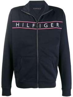 Tommy Hilfiger спортивная куртка с вышитым логотипом